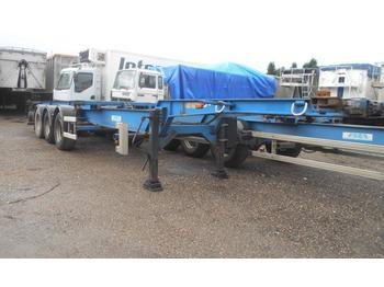 Containertransporter/ wissellaadbak aanhangwagen Asca