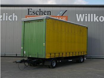 Huif aanhangwagen Krone Anhänger Pritsche / Plane, Edscha, BPW, 1.Hand