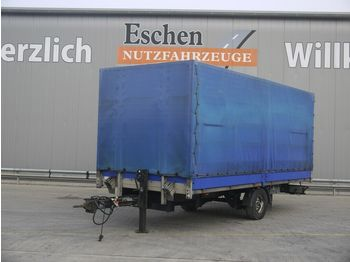 Huif aanhangwagen Spier ZPL155 Anhänger Pritsche / Plane, BPW-Achsen