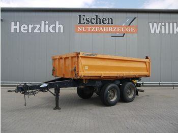 Kipper aanhangwagen Meiller MZDA 18/21, 4xReifen 100%, HU 07/22, BPW, 1.Hand