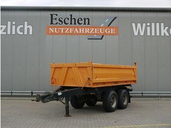 Kipper aanhangwagen Meiller MZDA 18/21 4xReifen 100%, HU 07/22, BPW, 1.Hand