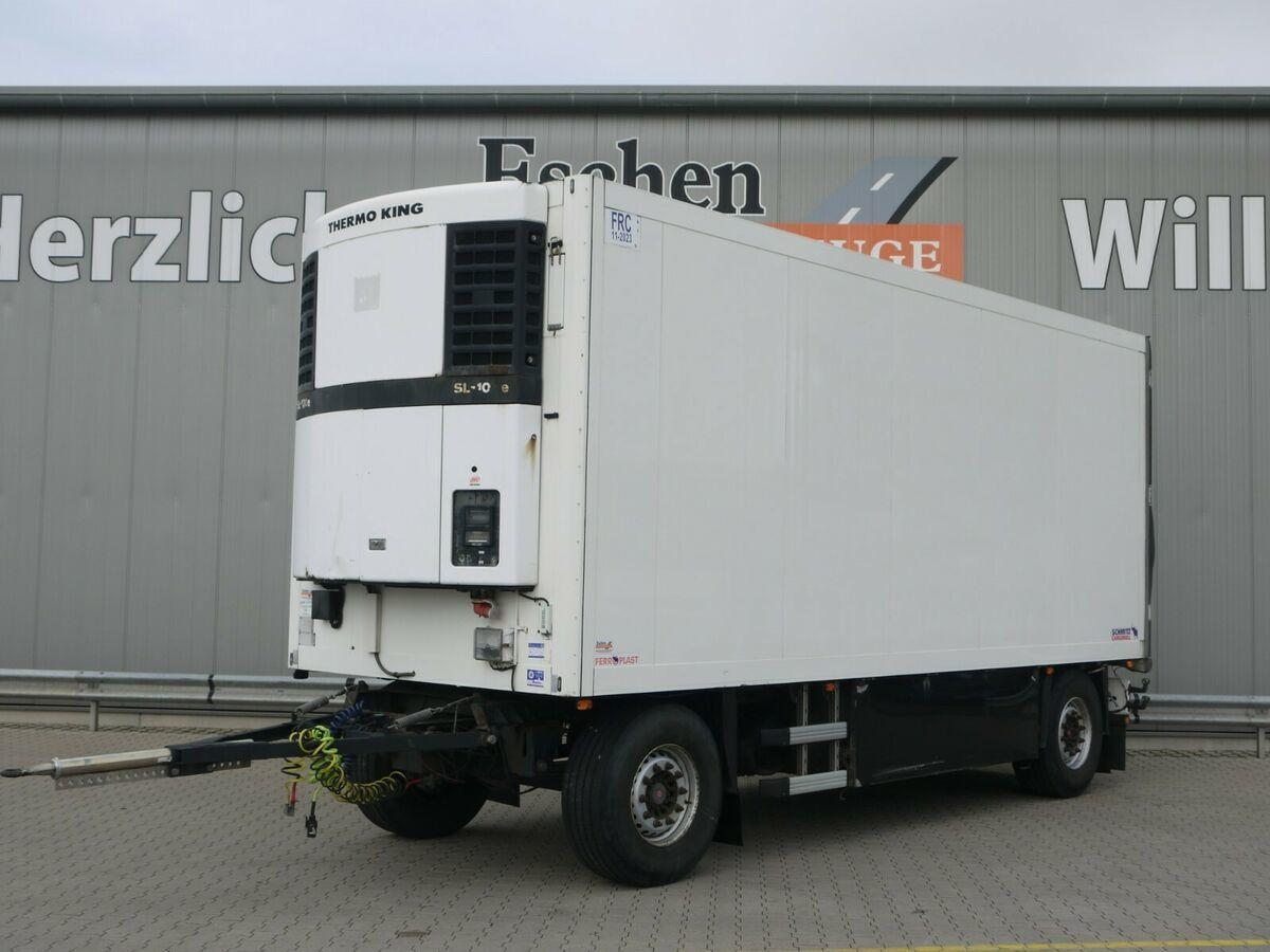 koelwagen aanhangwagen Schmitz Cargobull K018 Kühler*ThermoKing-SL100e*Rohrbahnen*Fleisch