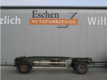 Containertransporter/ wissellaadbak aanhangwagen Hüffermann Schlitten, Luft, BPW