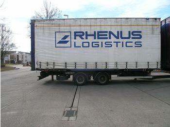 Containertransporter/ wissellaadbak aanhangwagen Wecon AWZ - BDF Volumen / Jumbo Wechselanh. TÜV 12/18