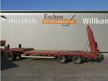 Dieplader aanhangwagen Langendorf TUE 24/100-3, hydr. Rampen, Blatt, BPW