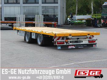 Platform aanhangwagen ES-GE Tandemanhänger - Containerverr.