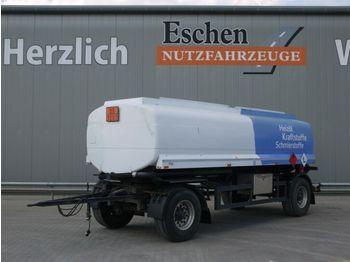 Tank aanhangwagen Strehlow TA18,Kässbohrer, Oben/Unten, 3 Kammern