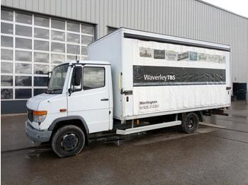 2005 Mercedes 814D 4x2 Curtainsider Lorry (UK Export Marker - Reg. Docs. Are Not Available) - huifzeil bedrijfswagen