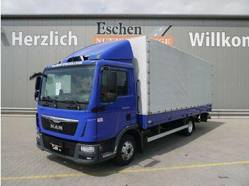 Huifzeil bedrijfswagen MAN TGL 8.180 BL*Klima*Alu Felgen*Spoiler*1.Hand
