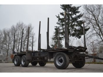 ACKERMANN-FRUEHAUF PA22 - 3 axles - steel susp - houttransport
