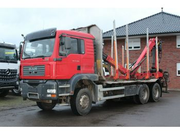 Houttransport MAN TGS 33.480 6X4 Epsilon 110 Z