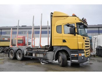 SCANIA R560 6X4 - houttransport