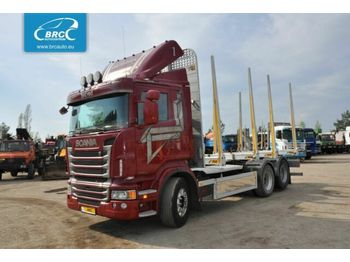 SCANIA R 480 - houttransport