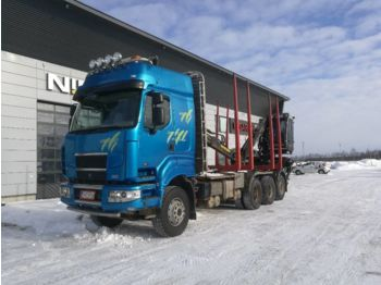 SISU C600 8x4 - houttransport