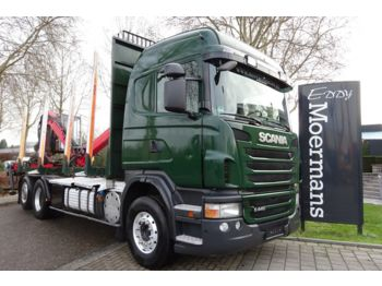 Houttransport Scania G440 6x2/4 Highline