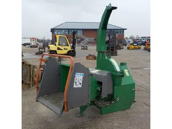 PTO Driven Wood Chipper to suit 3 Point Linkage - houtversnipperaar