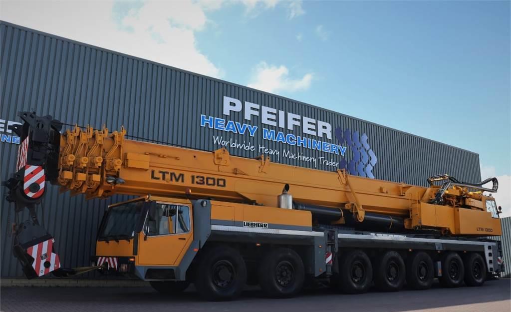alle terrein kraan Liebherr LTM1300 14x8x10 Drive, 300t Capacity, 60m Main Boo