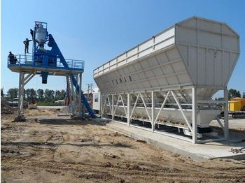 SUMAB EASY TO TRANSPORT! K-80 (80m3/h) Mobile plant - betoncentrale