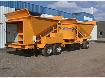SUMAB SCANDINAVIAN QUALITY! M-2200 (50m3/h) Mobile plant - betoncentrale