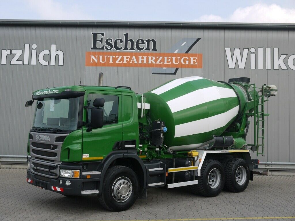betonmixer Scania P 360 6x4, 7 m³ Intermix, Manuell, Hardox, Klima