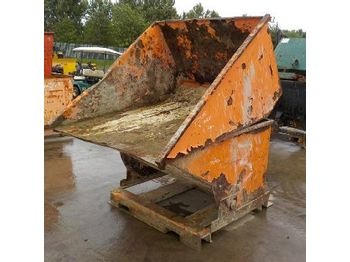 Tipping Skip to suit Forklift (2 of) - betonmixer
