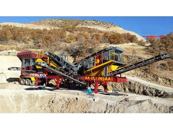 FABO MCK-60 MOBILE CRUSHING & SCREENING PLANT FOR HARDSTONE - breekmachine