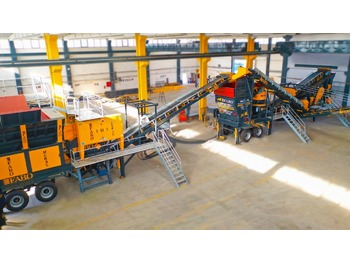 FABO MCK-95 MOBILE CRUSHING & SCREENING PLANT | JAW+CONE - breekmachine