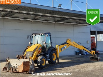 JCB 3CX INCLUDING HAMMER AND 2 BUCKETS - graaflaadmachine