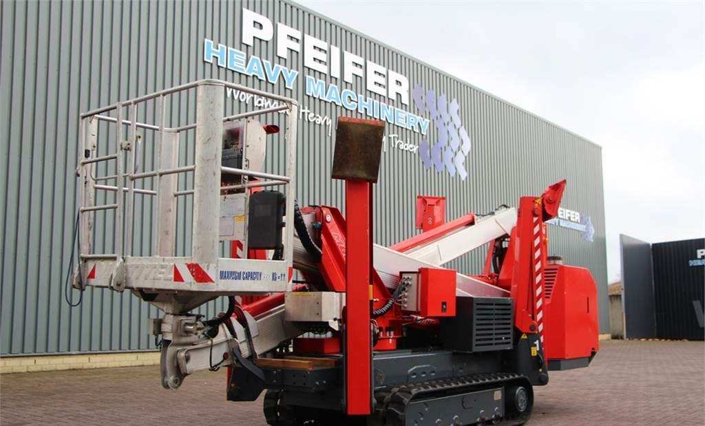 hoogwerker Multitel SMX250HD Diesel, 25.2 m Working Height, Heavy Duty