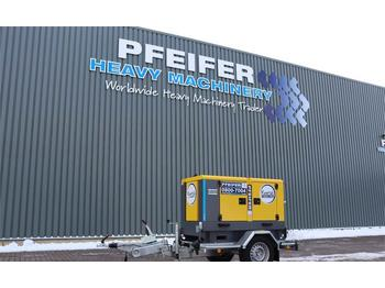 Industrie generator Atlas Copco QAS 20 S5 Valid inspection, *Guarantee! Diesel, 20