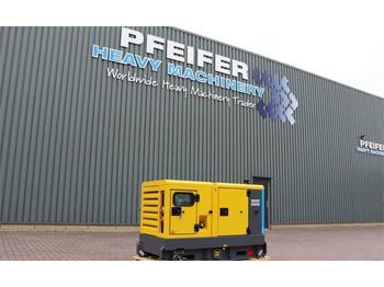 Industrie generator Atlas Copco QAS 20 Valid Inspection, *Guarantee! Diesel, 20 kV