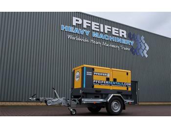 Industrie generator Atlas Copco QAS 40 ST3 Valid inspection, *Guarantee! Diesel, 4