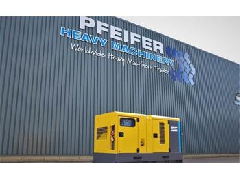 Industrie generator Atlas Copco QAS 60 ST3 Diesel, 60 kVA, Also Available For Rent