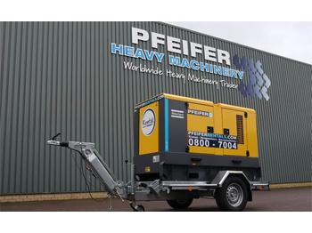 Industrie generator Atlas Copco QAS 60 Valid inspection, *Guarantee! Diesel, 60 kV