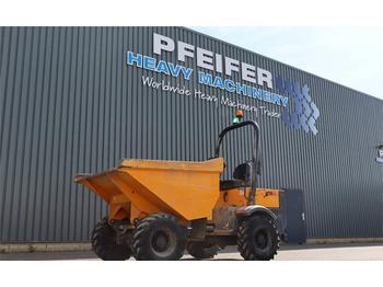 Kiepwagen met knikbesturing Terex TA3H Diesel, 4x4 Drive, Power Tip Dumper