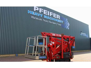 Knikarmhoogwerker CTE CS170E Valid inspection, *Guarantee! Bi-Energy, 17