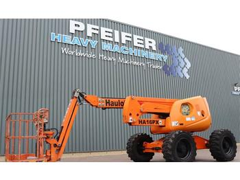 Knikarmhoogwerker Haulotte HA16PXNT Diesel, 4x4x4 Drive, 16m Working Height,