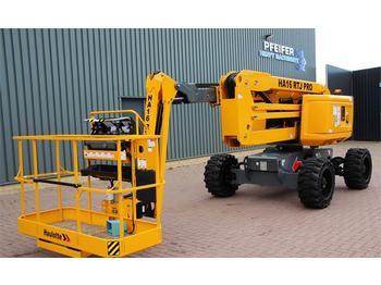 Knikarmhoogwerker Haulotte HA16RTJPRO Diesel, 4x4 Drive,16 m Working Height,
