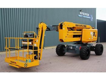 Knikarmhoogwerker Haulotte HA16RTJPRO Diesel, 4x4x4 Drive, 16 m Working Heigh