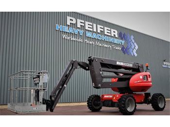 Knikarmhoogwerker Manitou 160ATJ Diesel, 4x4x4 Drive, 16m Working Height, Ji