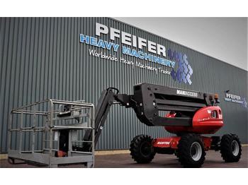 Knikarmhoogwerker Manitou 160ATJ+ Diesel, 4x4x4 Drive, 400kg Capacity, 16m