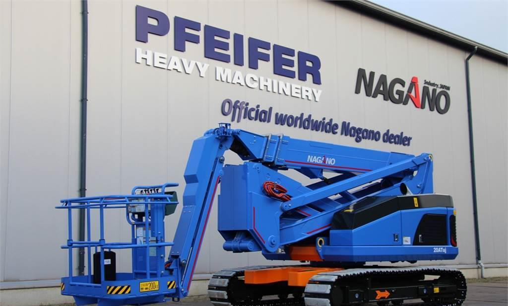 knikarmhoogwerker Nagano 20ATUJ Tracked Articulating Boomlift, 20m Working