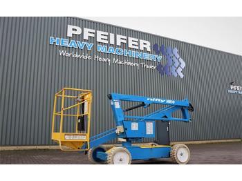 Knikarmhoogwerker Niftylift HR10 Electric, 10m Working Height, Non Marking Tyr
