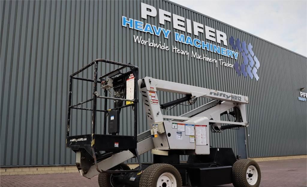 knikarmhoogwerker Niftylift HR12NDE Bi-Energy, 12.2m Working Height, Non Marki