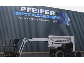 Knikarmhoogwerker Niftylift HR15N HYBRID MK3 Bi-Energy, (Diesel - Battery) 15.