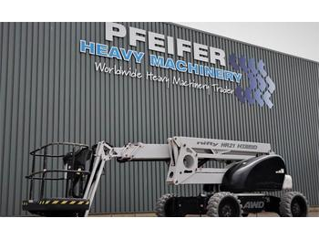 Knikarmhoogwerker Niftylift HR21 HYBRID 4X4 Bi-Energy, 4x4 Drive, 20.8m Workin