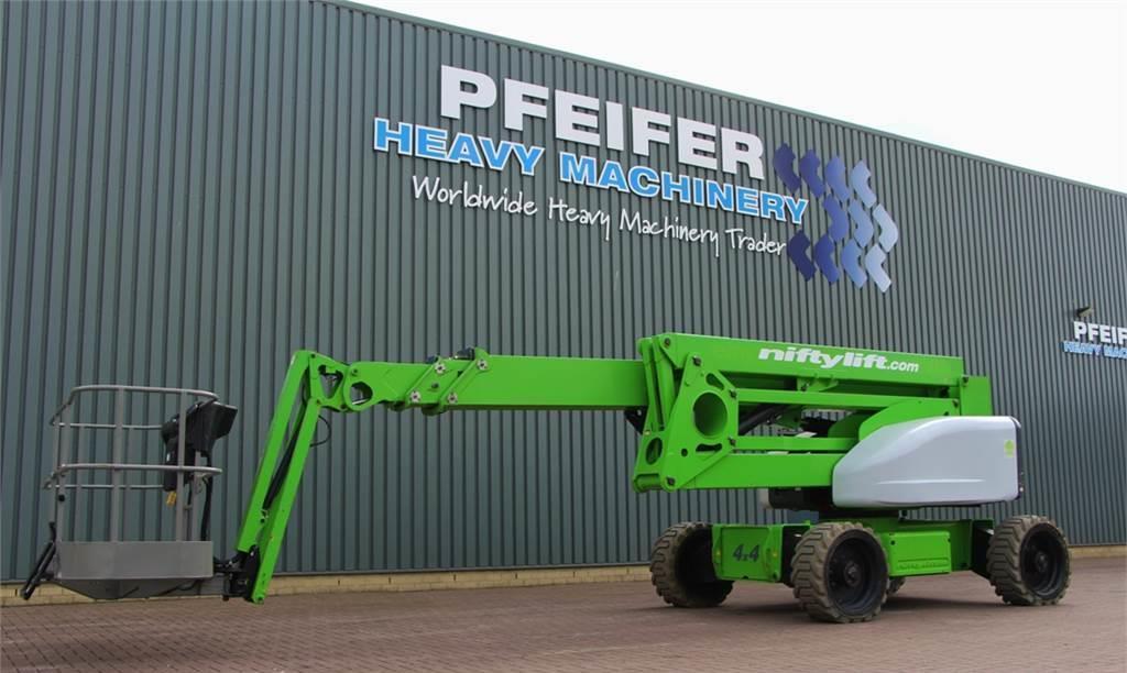 knikarmhoogwerker Niftylift HR28 HYBRID Valid inspection, *Guarantee! Hybrid,