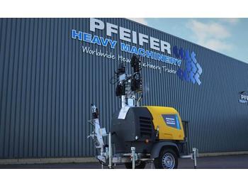 Lichtmast Atlas Copco HILIGHT H6+ NEW, Valid inspection, *Guarantee! Max