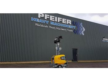 Lichtmast Atlas Copco Highlight E3+ New, Max Boom Height 7m, 10 Lux, Lig