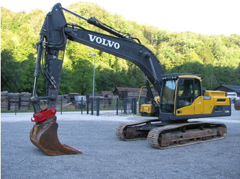 volvo EC250DNL TOP machine - rupsgraafmachine